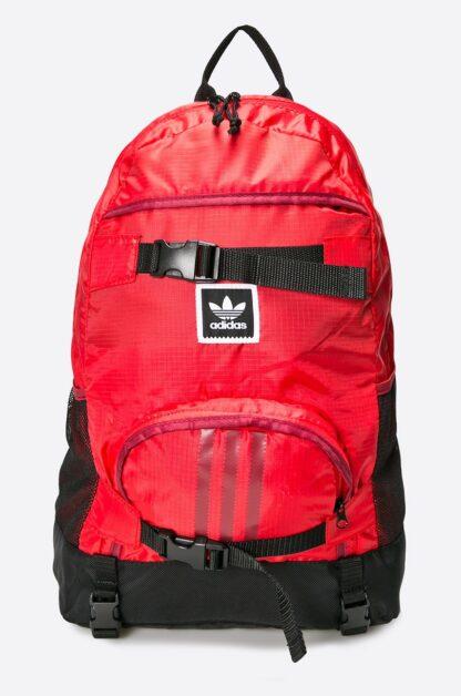 Ghiozdan rosu Adidas cu compartiment laptop